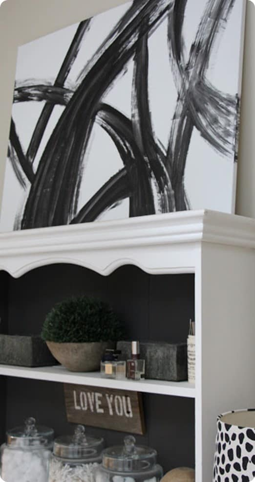 Black and White Abstract Wall Art - KnockOffDecor.com