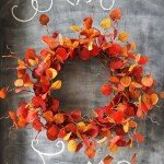 15-Minute Fall Leaf Wreath