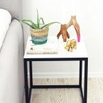 IKEA Hack Marble Side Table