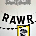 Scalloped Party Garland–in Less than 10 Minutes!