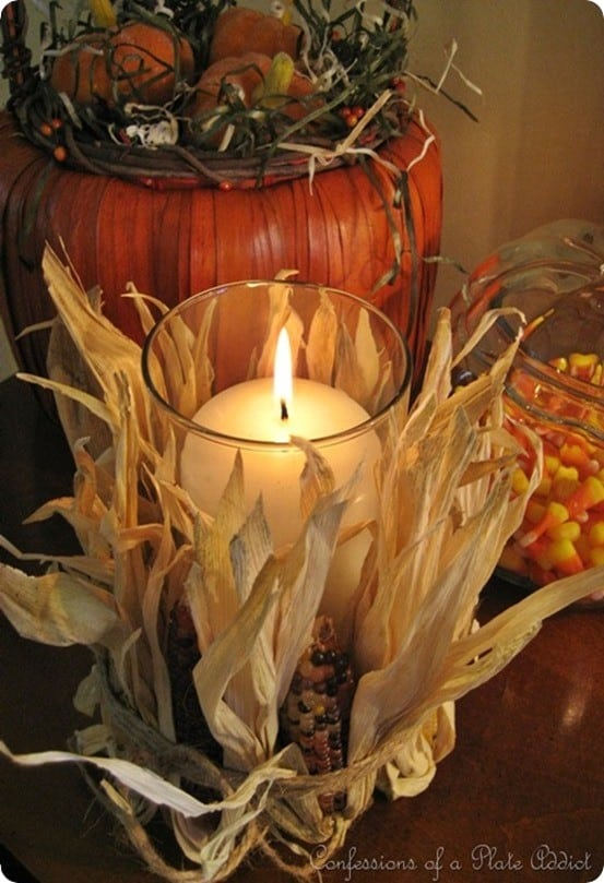 Indian-Corn-Candle