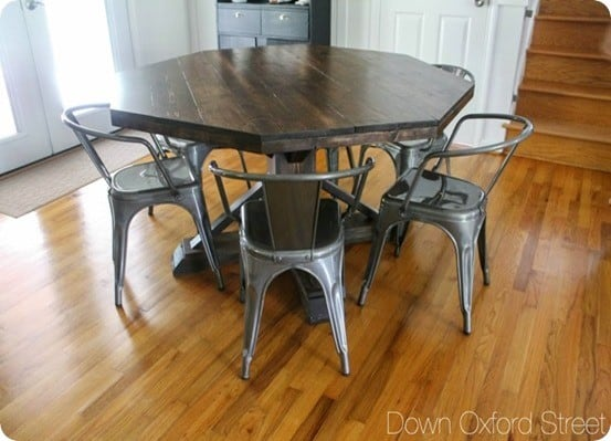 Octagon Shaped Dining Table