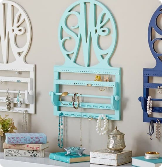 PB Teen Script Monogram Jewelry Storage