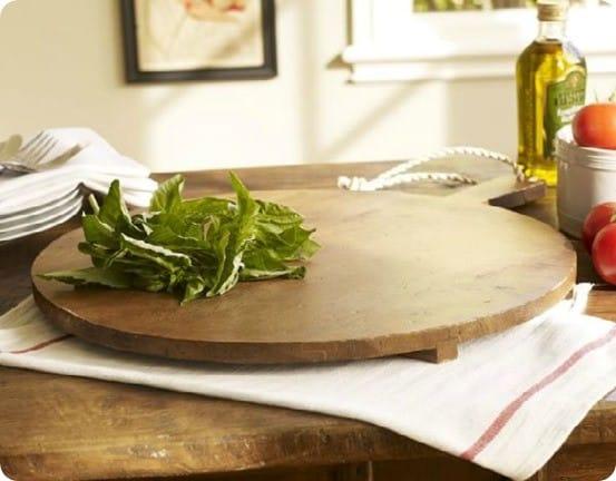 Pottery Barn Pizza Cutting Board