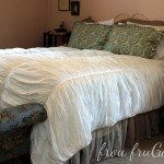 Best of Knock Off Decor #6: White Ruffled Quilt