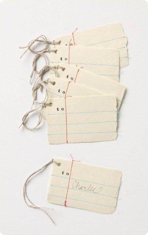 Anthropologie Gift Tags