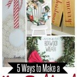 5 Non-Traditional Christmas Wreath Ideas