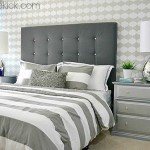 Simple Tufted Headboard