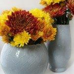 Honeycomb Dollar Store Vases