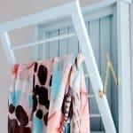Beadboard Laundry Drying Rack