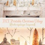 FREE Printable Christmas Village