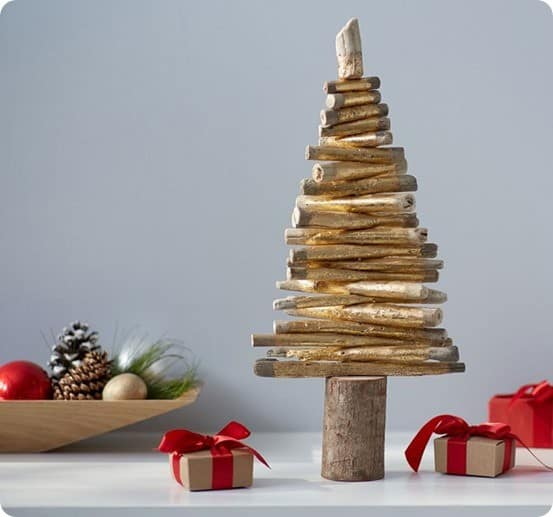 Gold Driftwood Tree from Pottery Barn