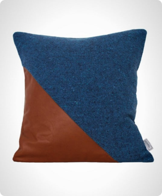 Leather Dipped Pillows