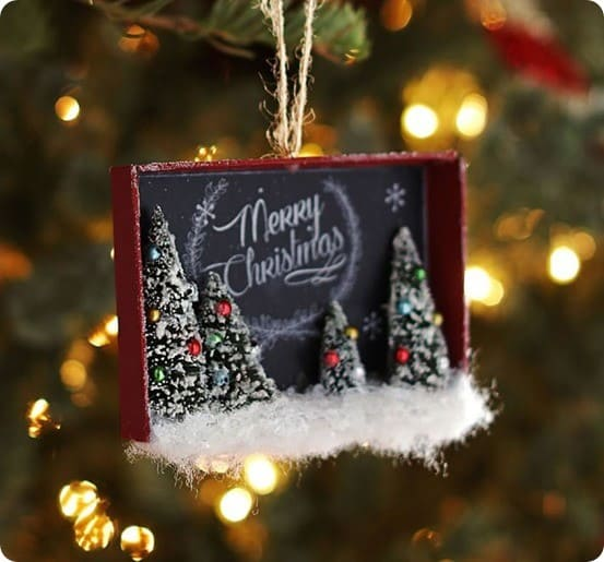 Holiday Decor Gift Ideas Pottery Barn Edition All My: Turn Gift Boxes Into Shadowbox Ornaments