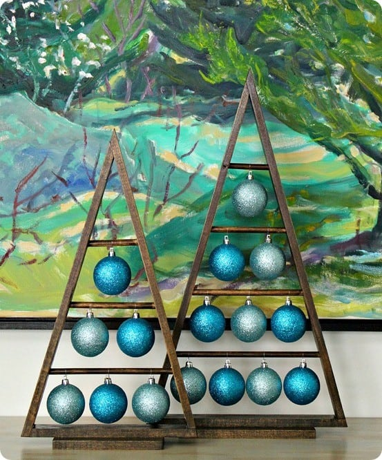 diy christmas decorations follow this tutorial to build these crate barrel inspired ornament trees - Crate And Barrel Christmas Decorations