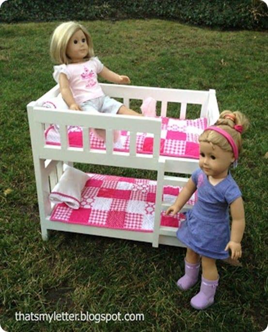 DIY Doll Bunk Bed