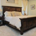 King Size Farmhouse Bed for $250