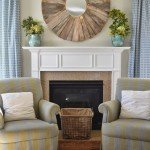 Oversized Statement Mirror Above the Mantel