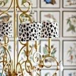 Trendy Dalmatian Spot Chandelier Shades