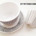 Sharpie Art Patterned Dinnerware