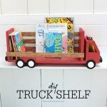 Truck Shelf from Scrap Wood