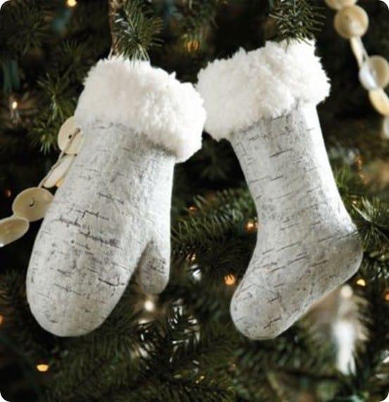 Mitten and Stocking Ornament from Ballard Designs