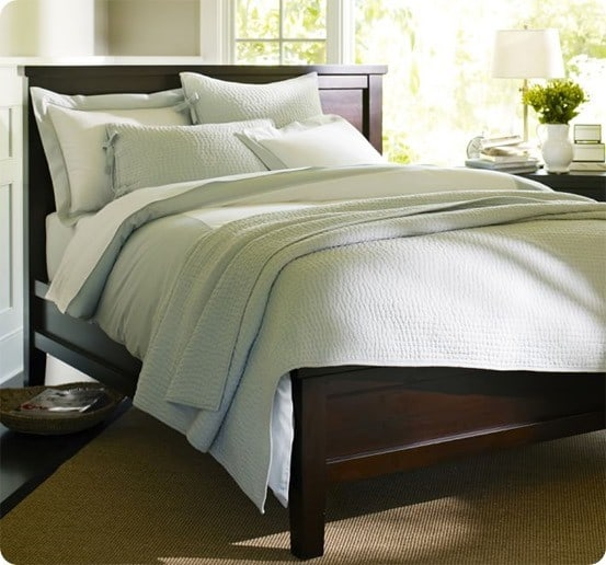 Pottery Barn Farmhouse Bed