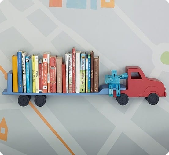Pottery Barn Kids Truck Shelf