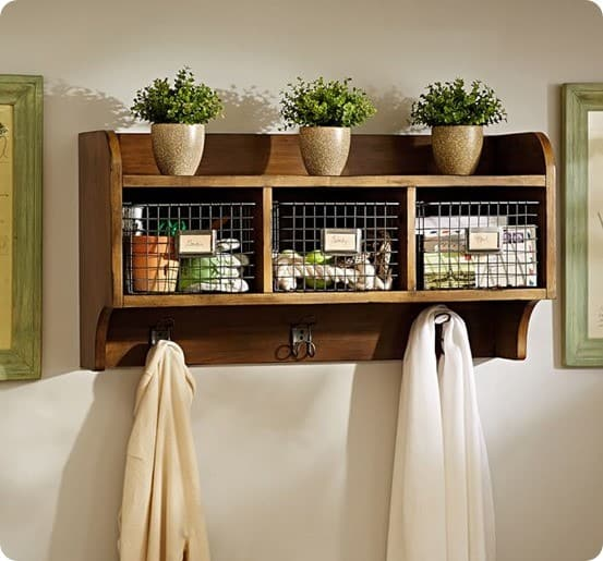 Pottery Barn Wade Shelf