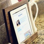 Easy Wood iPad Stand for $3
