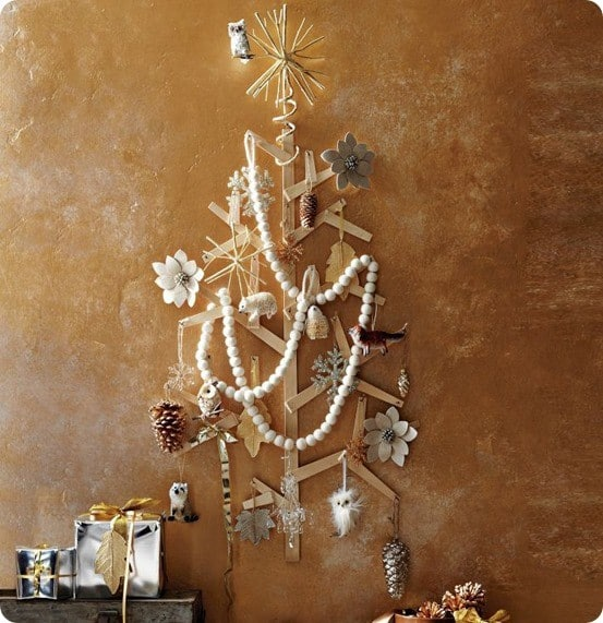 West Elm Wooden Wall Tree