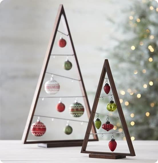Wood Ornament Tree from Crate & Barrel