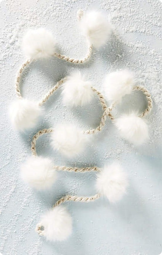 Alpine Pom Garland from Anthropologie