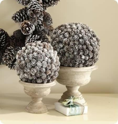 Ballard Designs Pinecone Topiary
