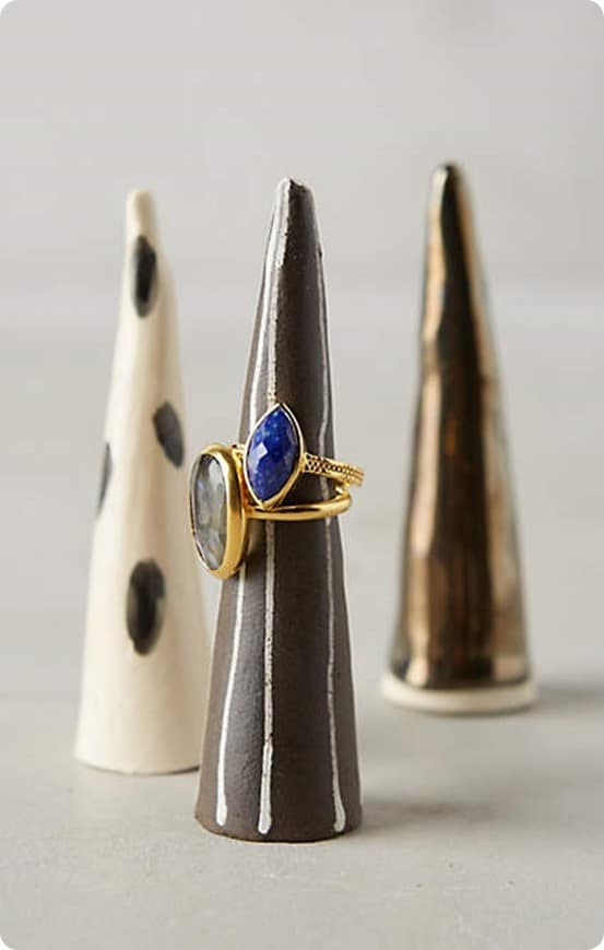 Ceramic Ring Cone from Anthropologie