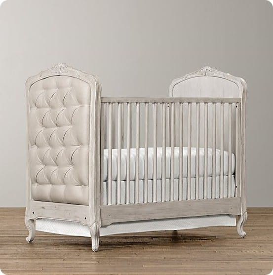 Colette Tufted Crib from RH Baby & Child