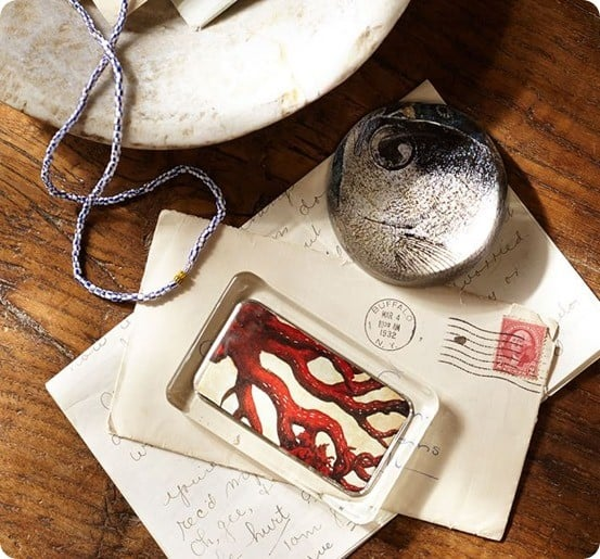 Curiosity Decoupage Paperweights