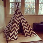How to Sew a Play Teepee