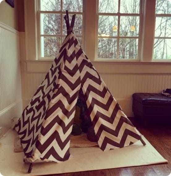 DIY Crafts ~ RH Baby & Child Inspired Play Teepee Tutorial