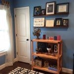 Two-Shelf Open Bookcase for $40