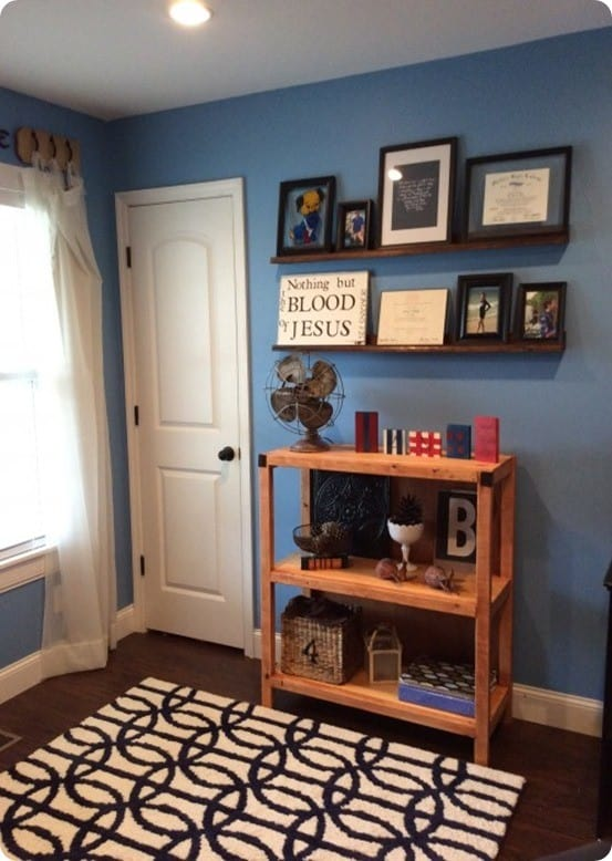 DIY Furniture ~ Pottery Barn Inspired Bookshelf