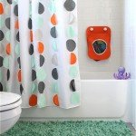 Circle Shower Curtain for a Kid-Friendly Bathroom