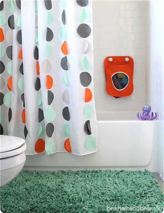 Kid shower curtain