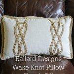 Decorative Pillow with a Hot Glue Gun