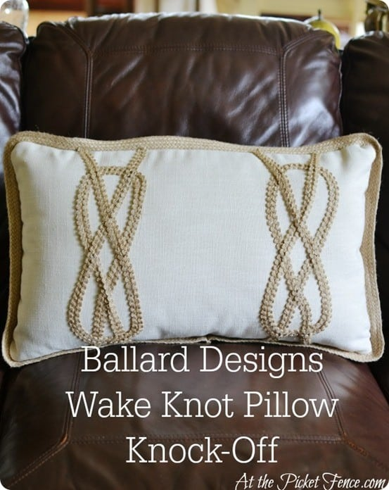 Decorative Pillow With A Hot Glue Gun Knockoffdecor Com