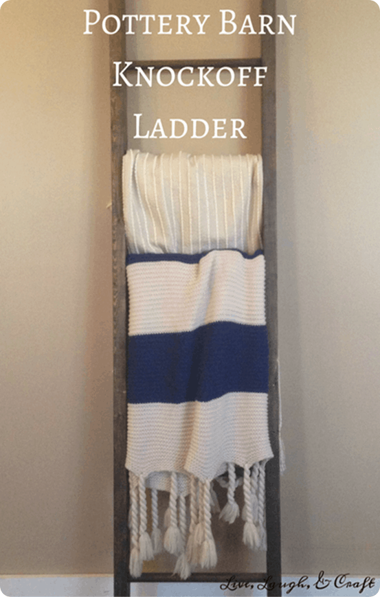 blanket ladder for 10. Black Bedroom Furniture Sets. Home Design Ideas