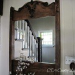 Attic Find to Restoration Hardware Look-a-Like Mirror