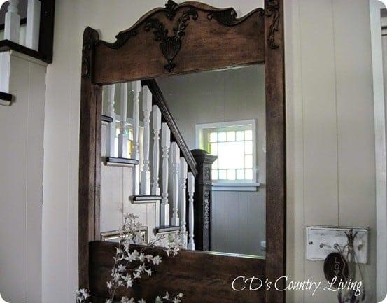 DIY Wall Decor ~ Restoration Hardware Inspired Mirror