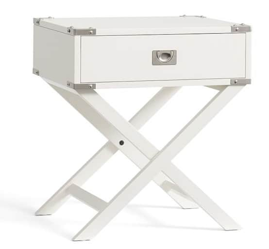 Devon Campaign Bedside Table from Pottery Barn