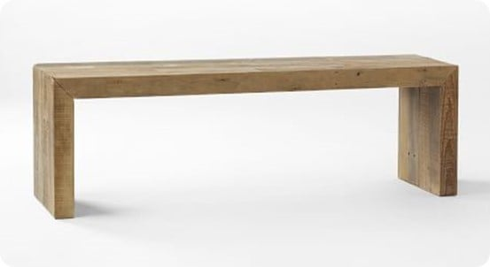 Emmerson Reclaimed Wood Dining Bench From West Elm
